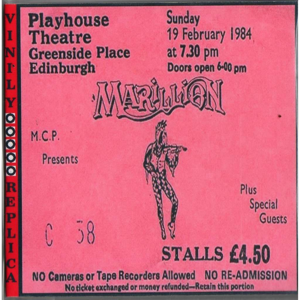 Marillion Live At 'Playhouse' (Edinburgh UK 19.02.1984)