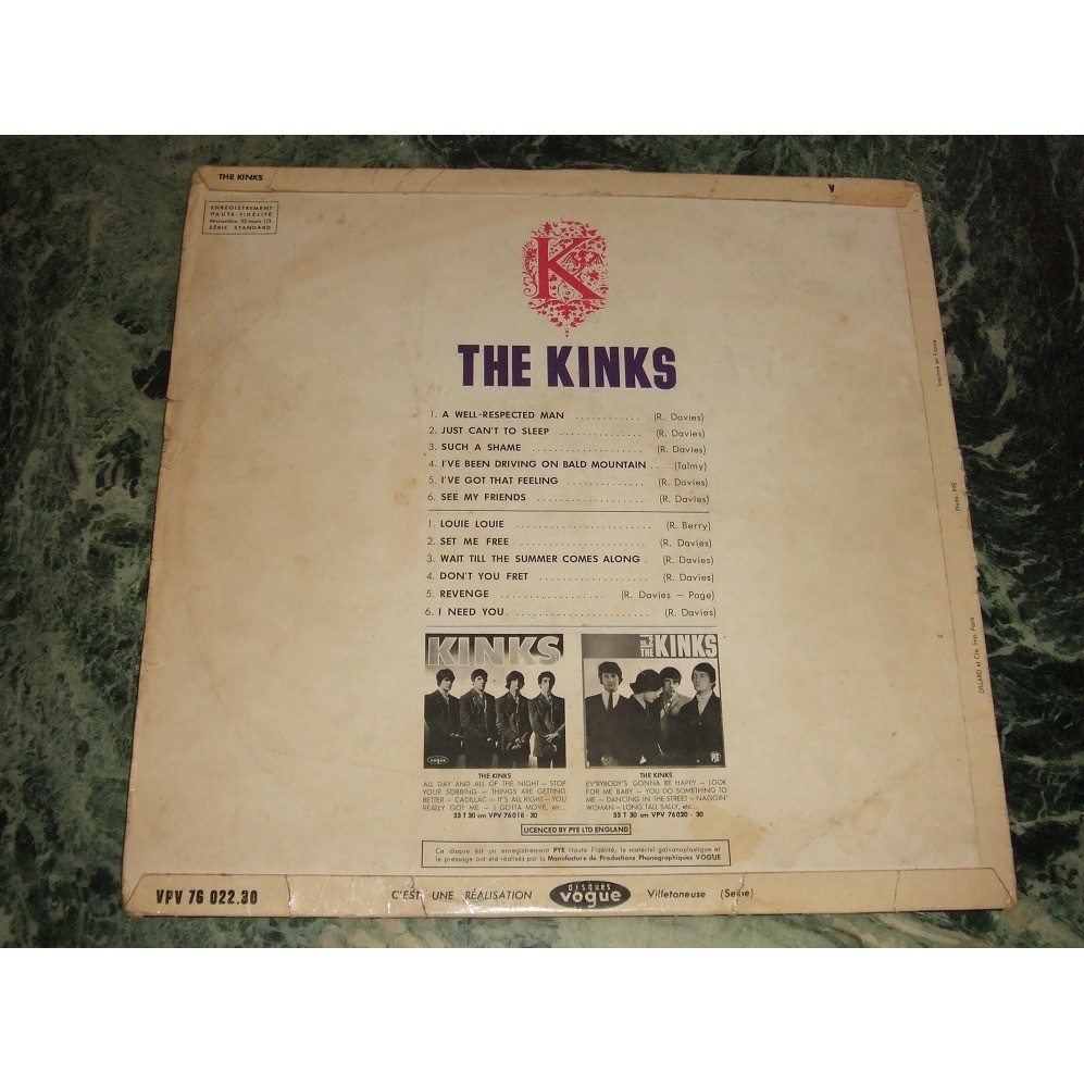 The Kinks # 3 a well respected man