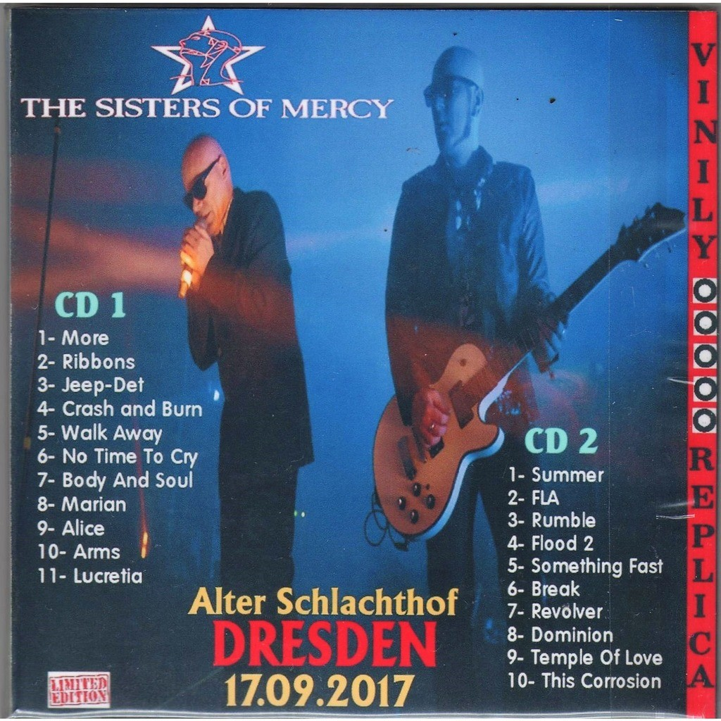 The Sisters Of Mercy Live At 'Alter Schlachthof' (Dresden DE 17.09.2017)