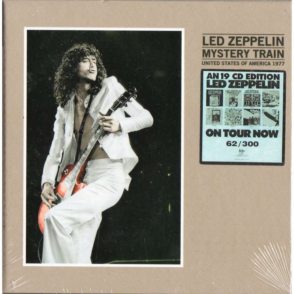 Led Zeppelin Mystery Train (United States Of America 1977) (Ltd 300 no'd copies live 19CD box+booklet!)