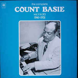 Count Basie The complete Count Basie Vol. 11 To 20 1941-1951