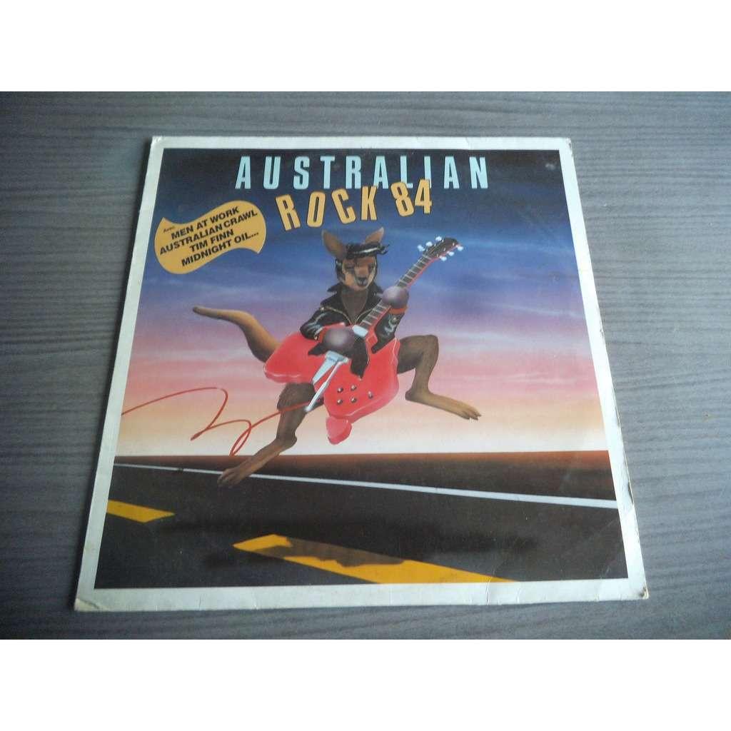 COMPILATION . DIVERS . VARIOUS ARTISTS AUSTRALIAN ROCK 84