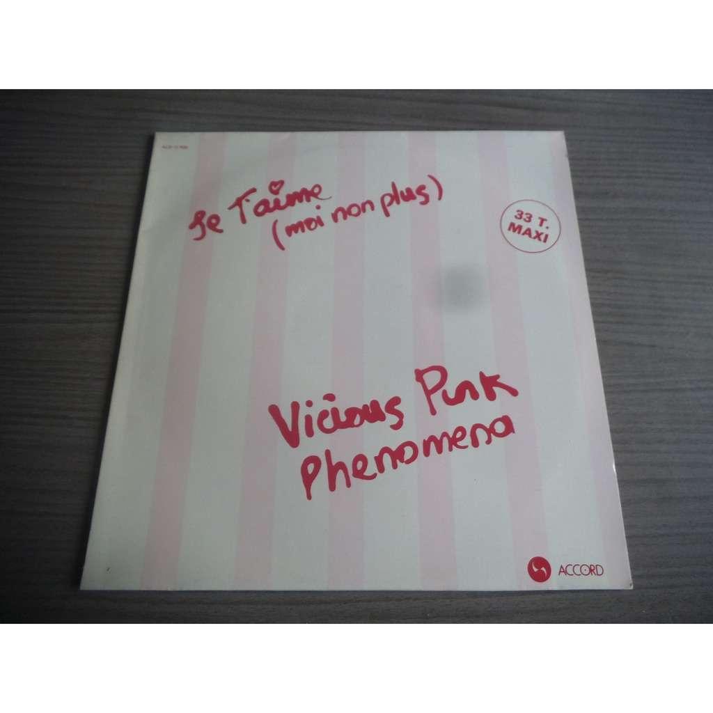 vicious pink phenomena je t'aime (moi non plus) / maniac