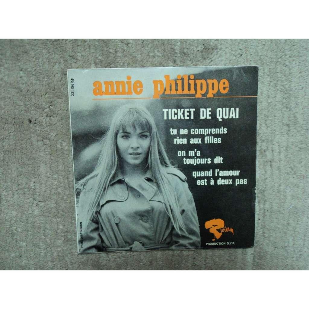 annie philippe ticket de quai +3