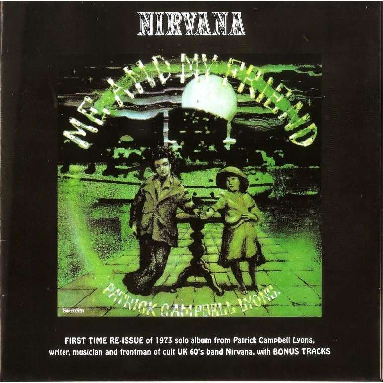 Nirvana Me And My Friend CD Worldwide Free Shipping