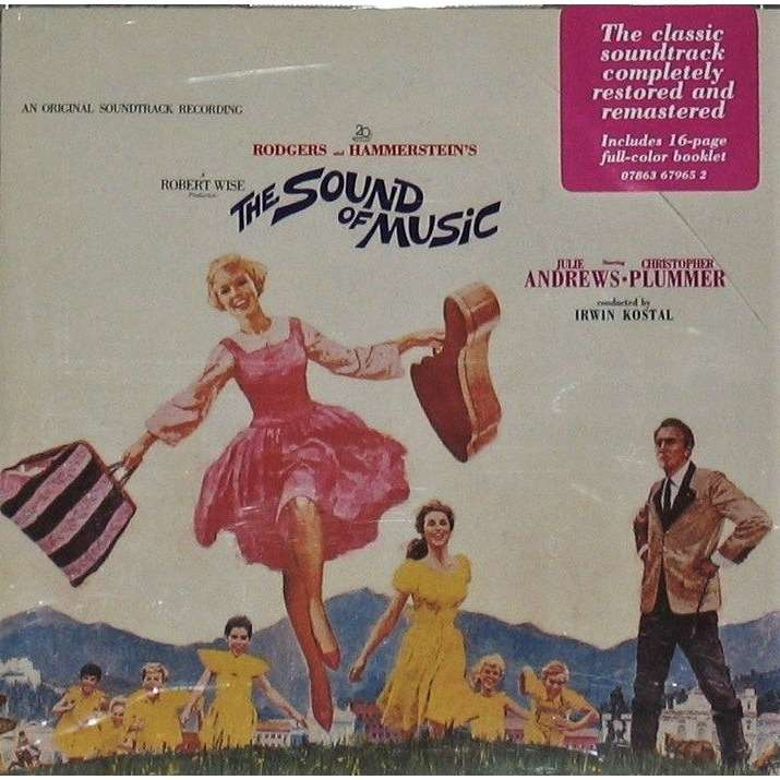 Julie Andrews , Ch. Plummer, Rodgers & Hammerstein The Sound Of Music - an original soundtrack recording