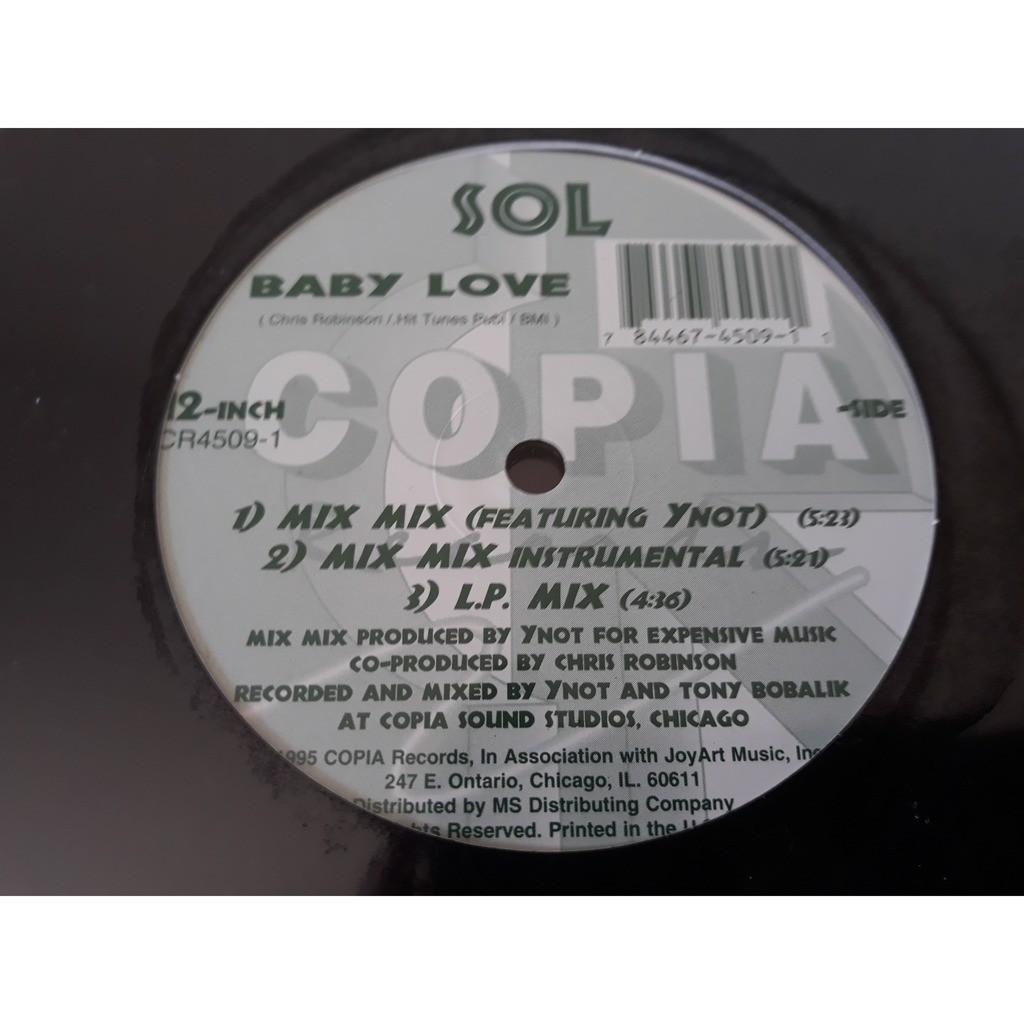 SOL* - Baby Love SOL* - Baby Love