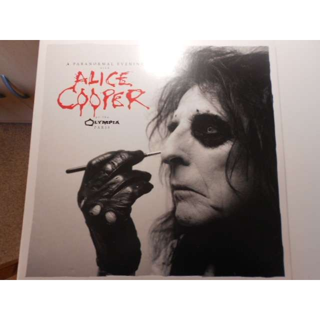 alice cooper at the olympia