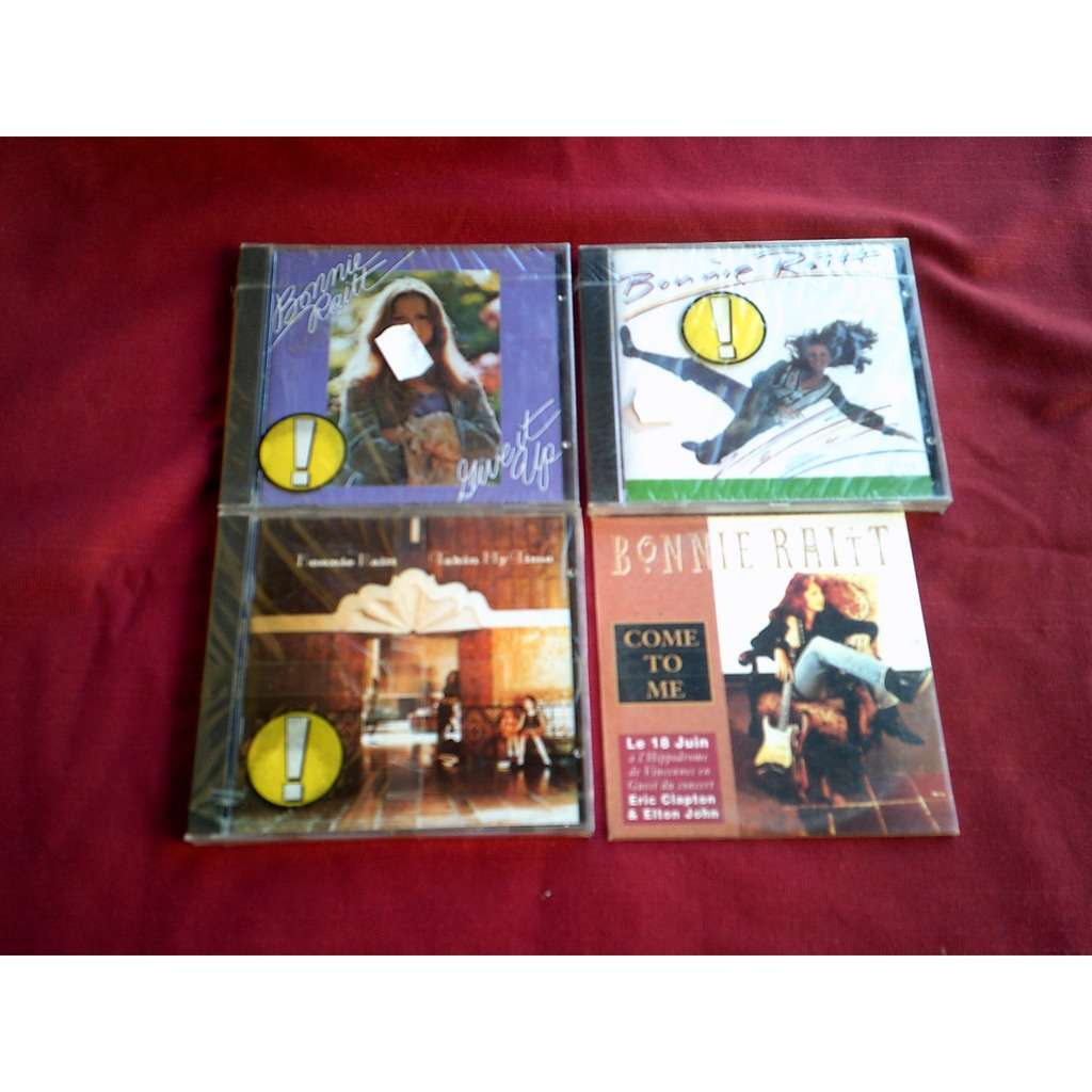 bonnie raitt COLLECTION DE 3 CD ALBUM + 1 SINGLE PROMO