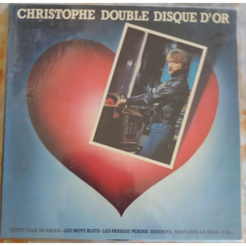CHRISTOPHE Double disque d'or