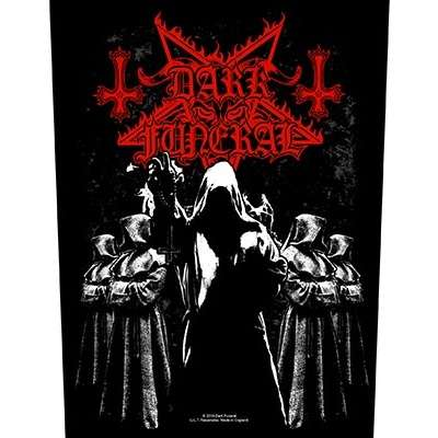 DARK FUNERAL Shadow Monks BACKPATCH