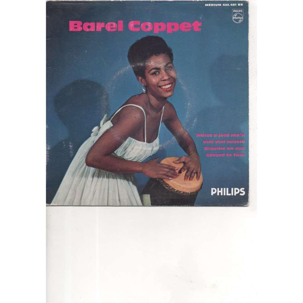 BAREL COPPET et ses Antillais mulet a jeté moin/ vini vini missié/ biguine en sax/ gerard te fain