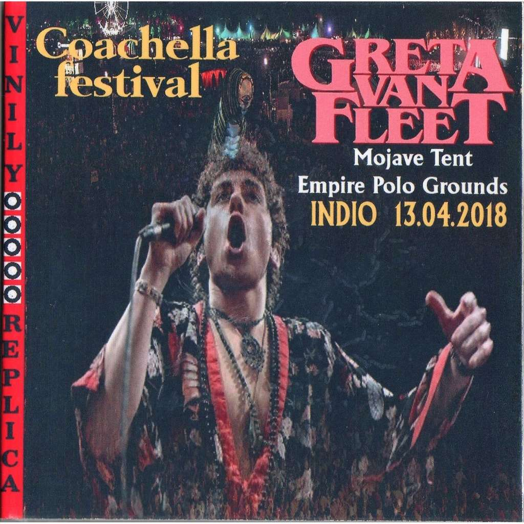 Greta Van Fleet Live At 'Mojave Tent Empire Polo Grounds' (Indio CA USA 13.04.2018)