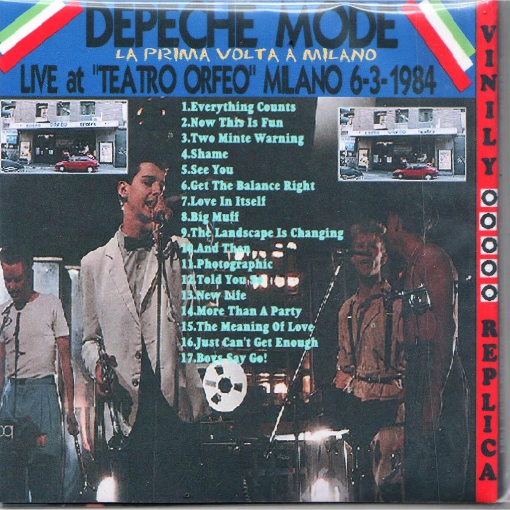 Depeche Mode Live At 'Teatro Orfeo' (Milano IT 06.03.1984)