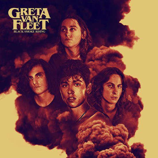 Greta Van Fleet Black Smoke Rising (Euro 2017 Ltd debut 4-trk 12ep on Republic Records - Lava lbl full gf ps!)