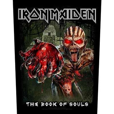 IRON MAIDEN The Book of Souls / Eddie's Heart BACKPATCH
