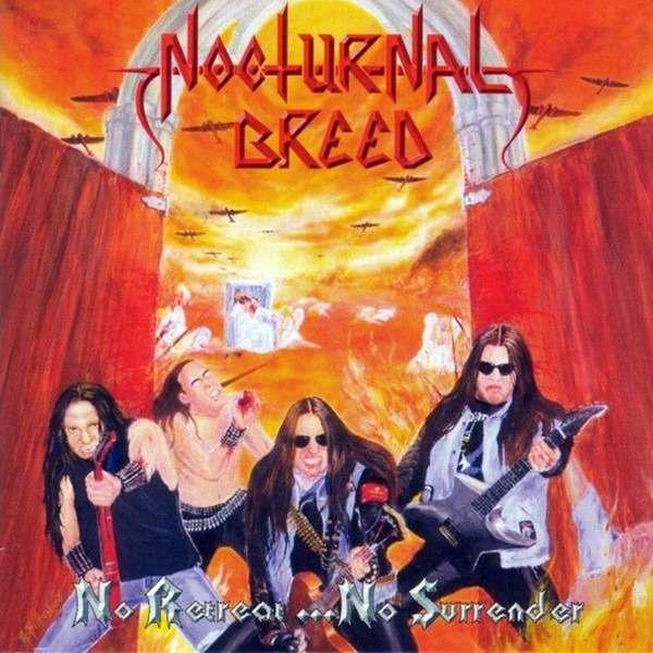 NOCTURNAL BREED No Retreat...No Surrender. Splatter Vinyl