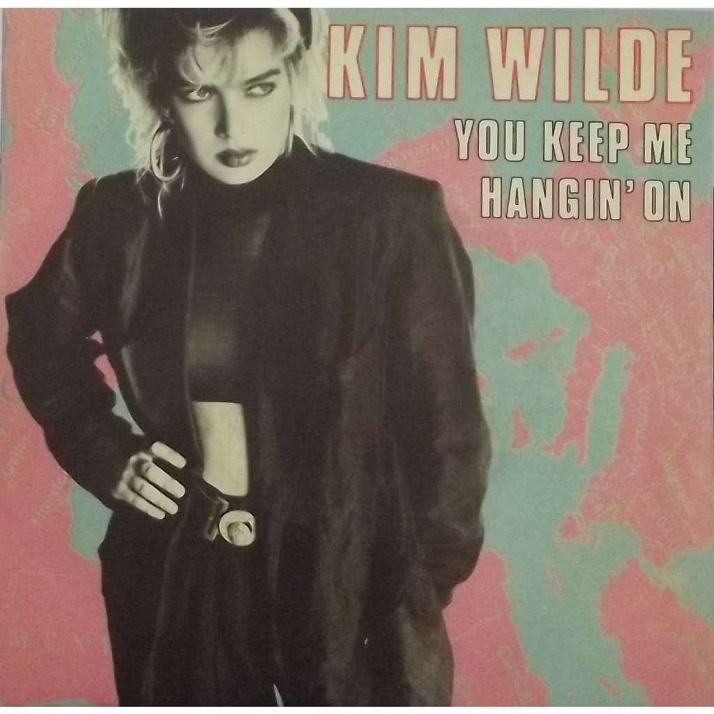kim wilde you keep me hangin' on / loving you