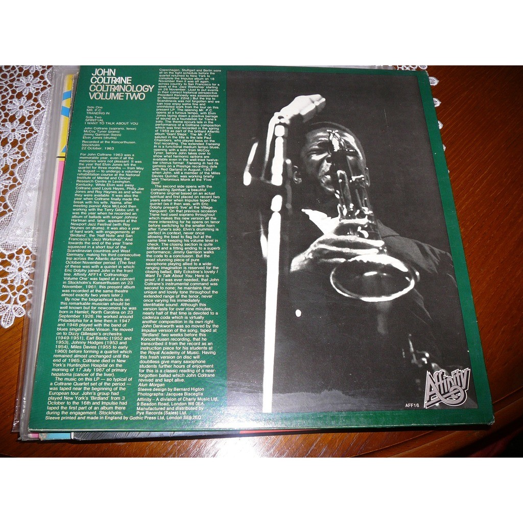 John Coltrane Coltranology Volume Two