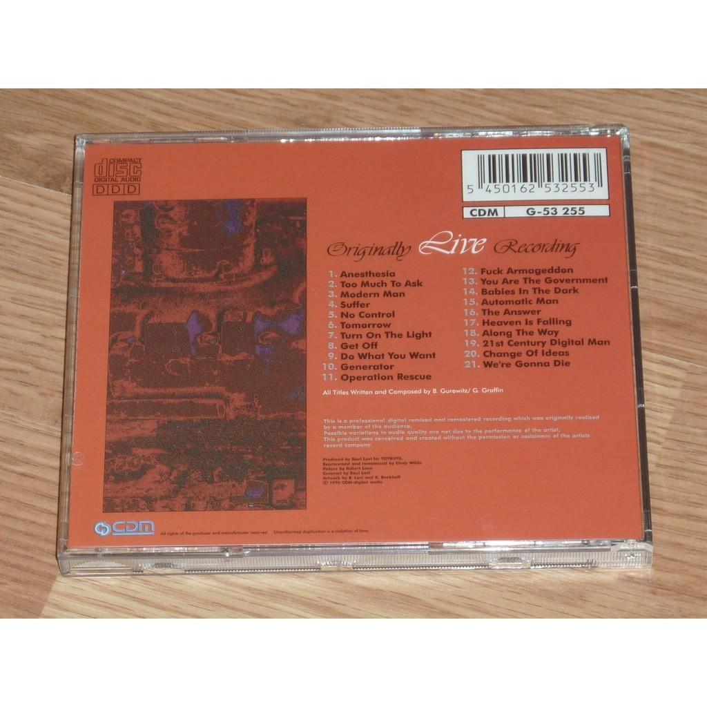 BAD RELIGION PROMISE OF PROSPERITY CD
