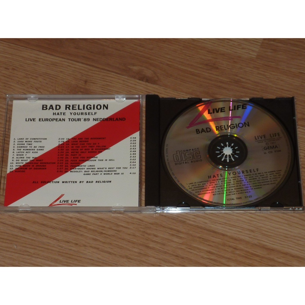 BAD RELIGION HATE YOURSELF CD
