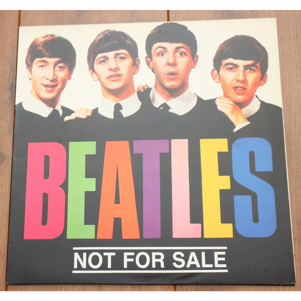 The Beatles Not For Sale lp / green colored vinyl