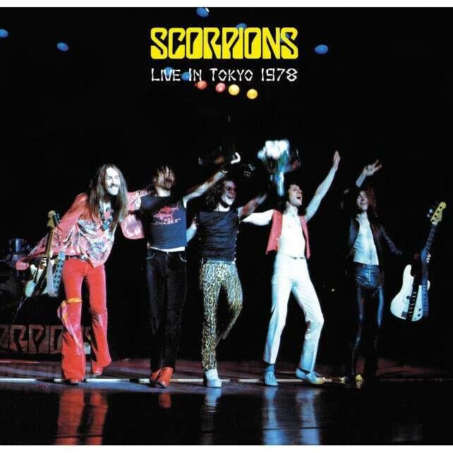 Scorpions Live In Tokyo Japan 1978 (lp)