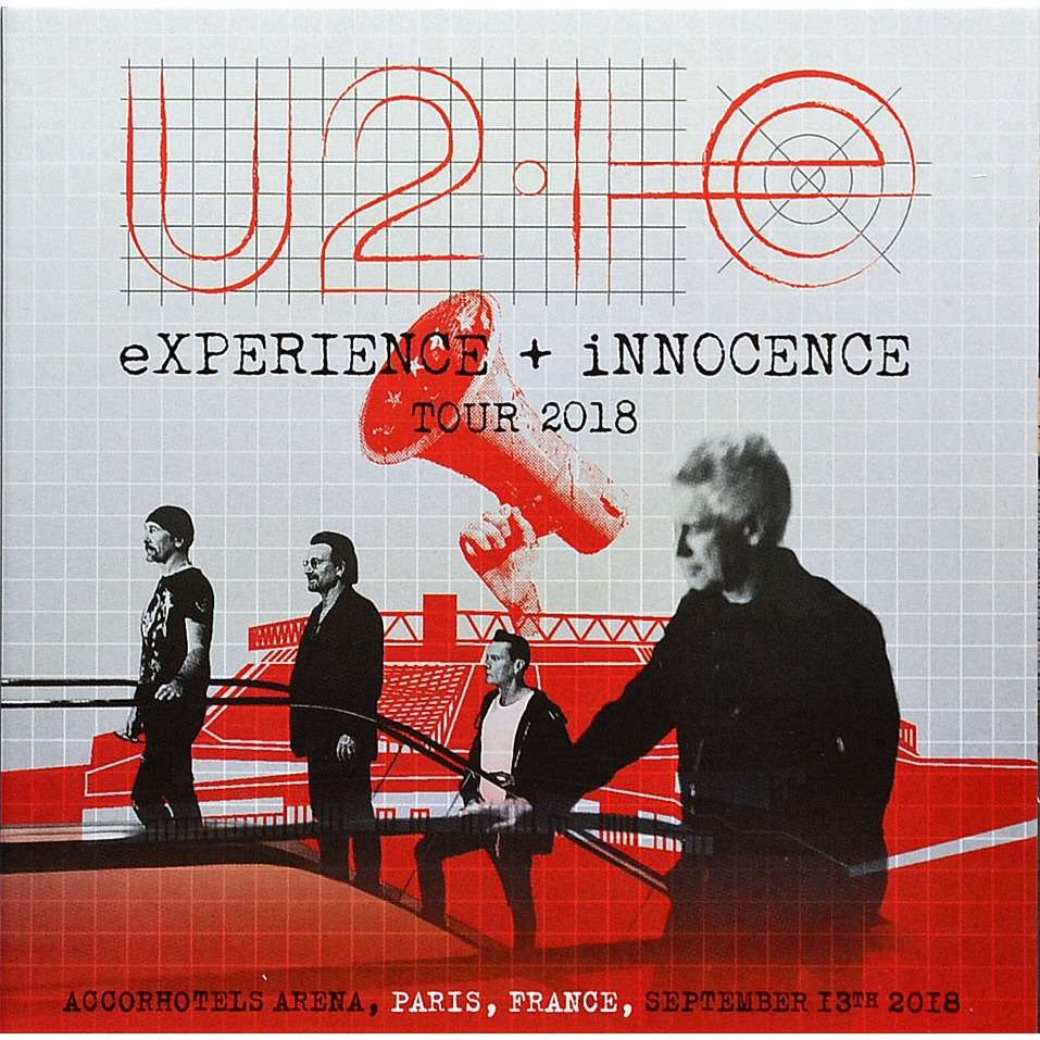 U2 Live In Paris France 13 September 2018 eXPERIENCE+iNNOCENCE Tour 2CD