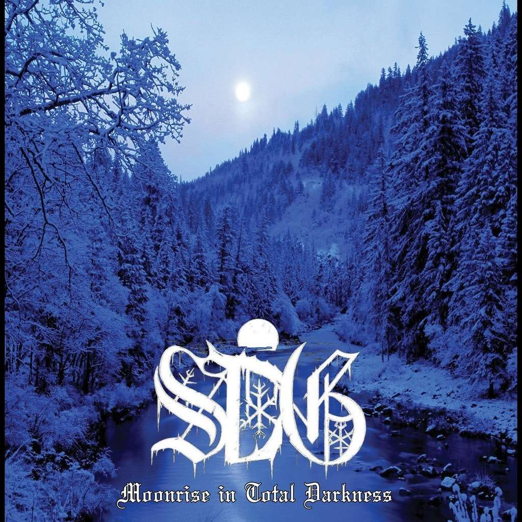 SORCIER DES GLACES Moonrise in Total Darkness. Black Vinyl