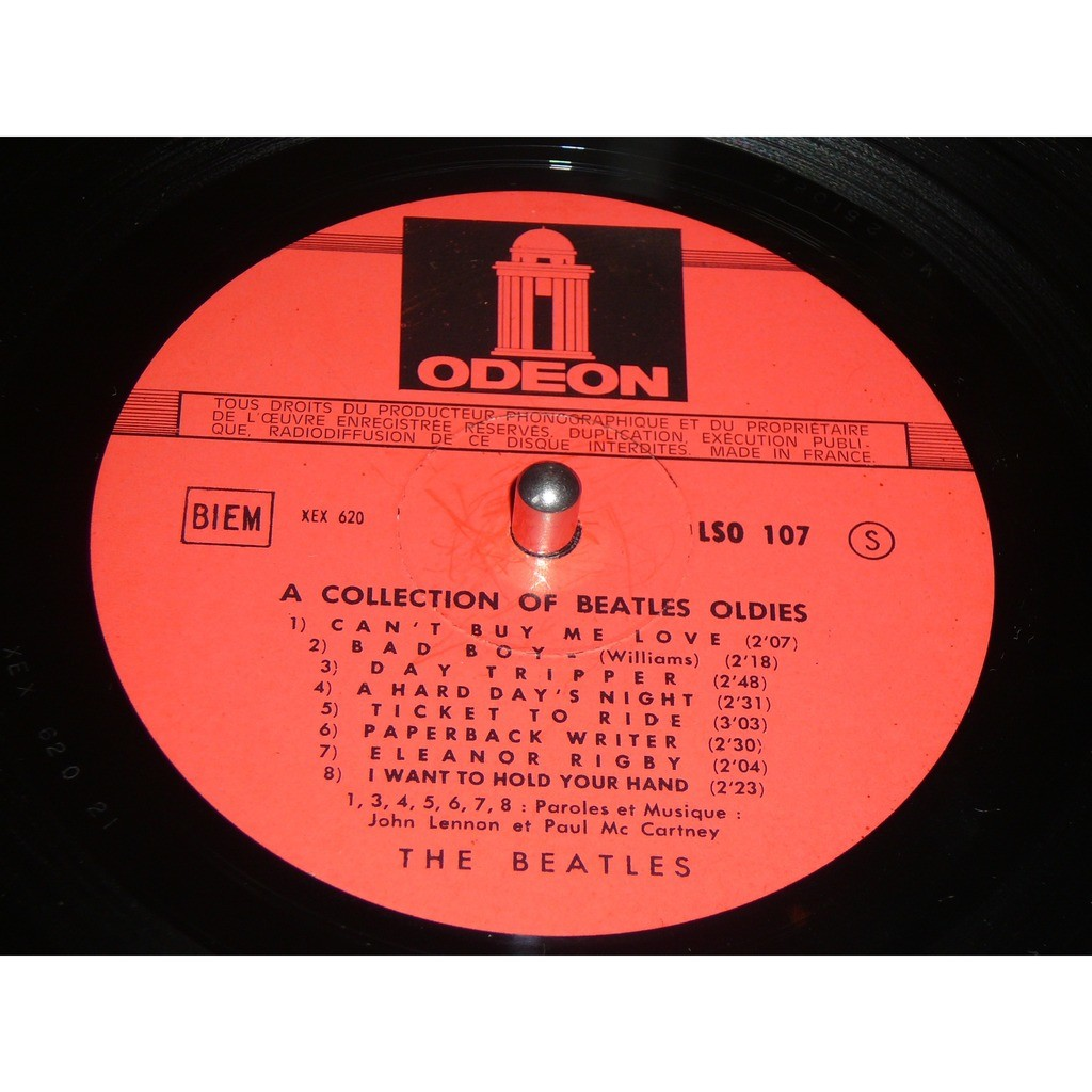 BEATLES A Collection For Beatles (label rouge)