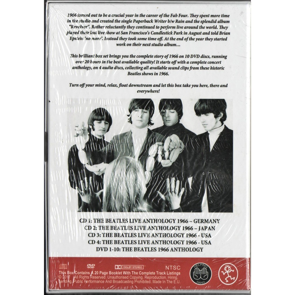 Beatles Here There And Everywhere (Beatles 1966 Anthology) (Ltd 350 no'd copies 4CD & 10DVD box+booklet!)
