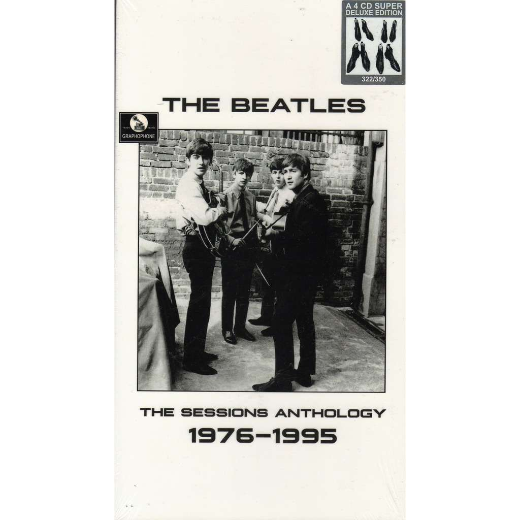 Beatles The Sessions Anthology 1976-1995 (Ltd 350 no'd copies 4CD box + booklet!)