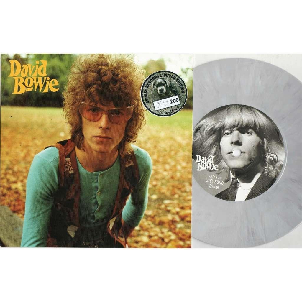 David Bowie I'm Not Quite (Euro Ltd 200 no'd copies demos 2-trk 7single GREY Coloured wax unique ps)