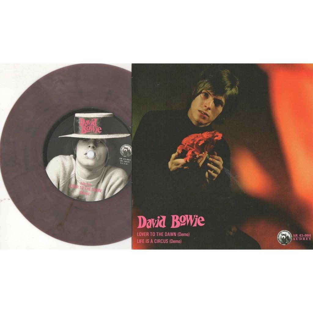 David Bowie lOVER tO tHE dOWN (Euro Ltd 200 no'd copies demos 2-trk 7single pURPLE Coloured wax unique ps)