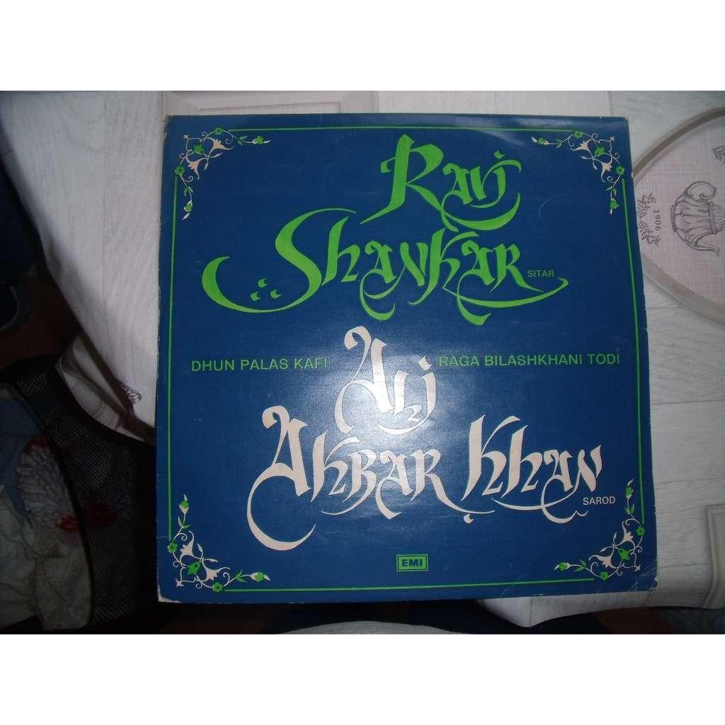 Ravi Shankar, Ali Akbar Khan dhun palas kafi raga .....