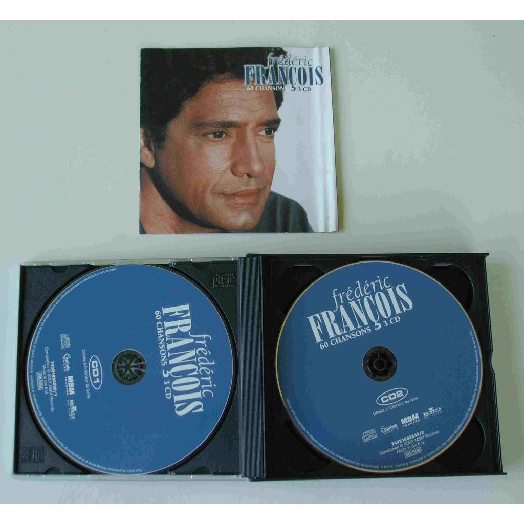 Frédéric François 60 chansons - coffret 3 cds