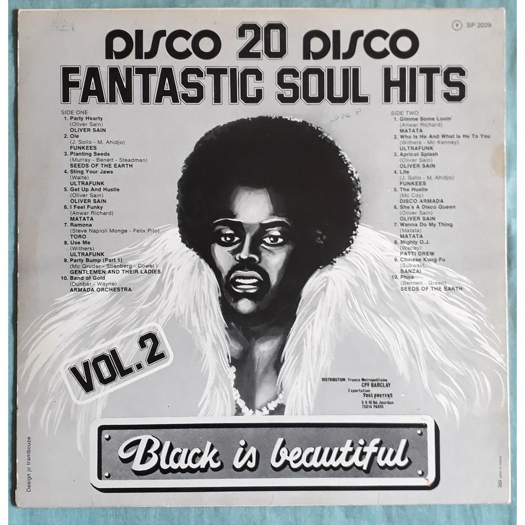 various fantastic soul hits - black is beautiful