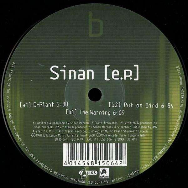 Sinan Sinan EP