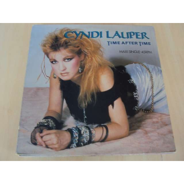 LAUPER CYNDI TIME AFTER TIME