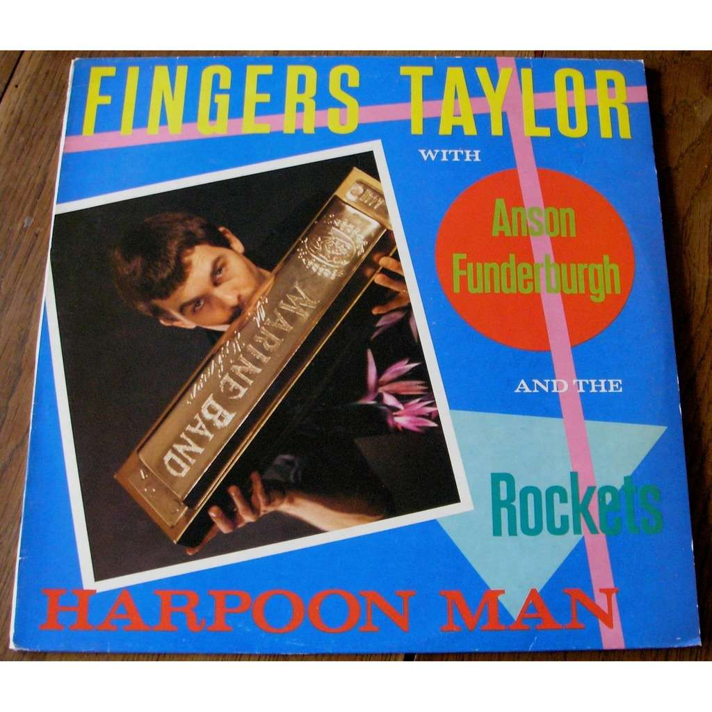 fingers taylor with anson funderburgh and the rock harpoon man