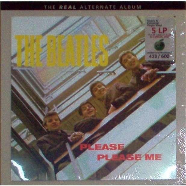 The Beatles The Real Alternate Album Please Please Me (Ltd 600 no'd copies 5LP Color wax+2CD+DVD Box+booklet!)