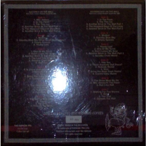 pink floyd The Box (Earls Court London, 06 & 09.08.1980) (Ltd no'd copies 6LP BLU wax box 3D ps!! Sealed!)