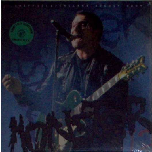 u2 Monster (Sheffield UK 20.08.2009) (sWINGING pIG LBL lTD NO'D 2lp green WAX SEALED+STICKERED COPY!)