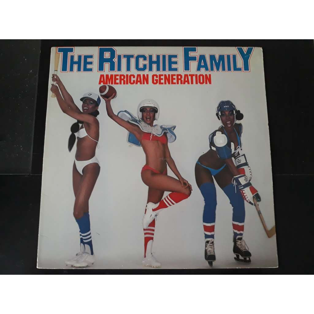 The Ritchie Family - American Generation (LP, Albu The Ritchie Family - American Generation (LP, Album, P/Mixed)