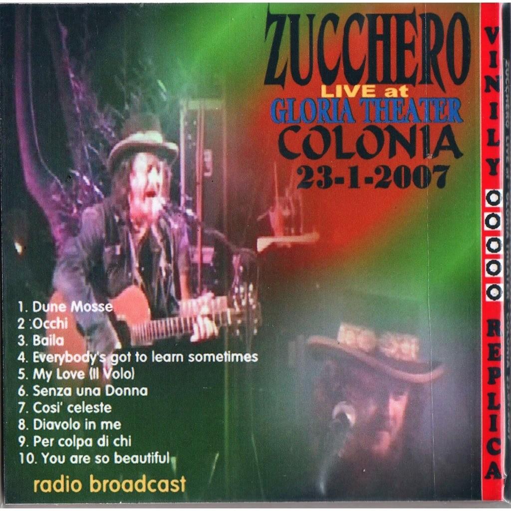 Zucchero Live At 'Gloria Theater' (Colonia DE 23.01.2007)