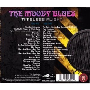 the moody blues Timeless Flight - The Voyage Continues - 1967-2013