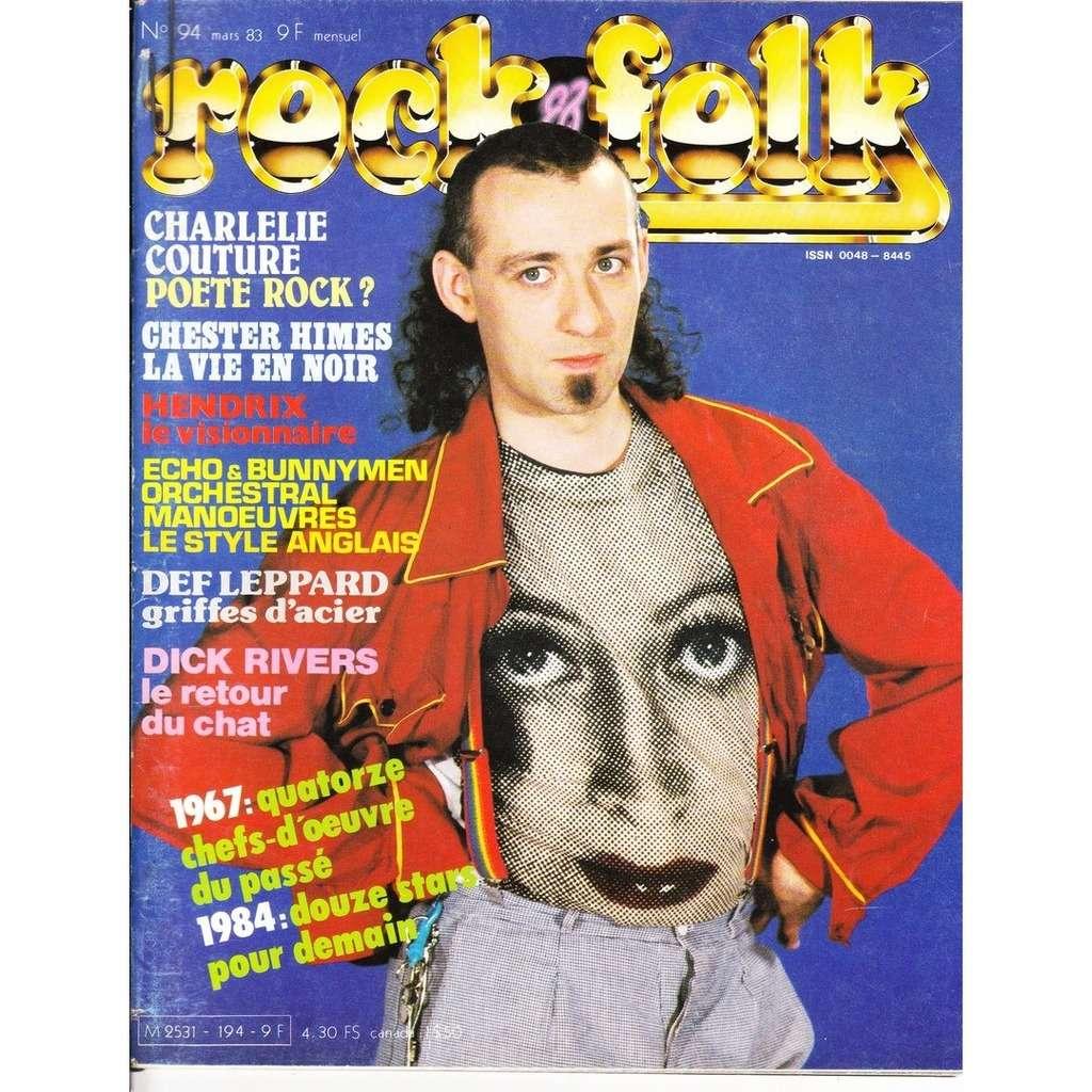 Rock & Folk N° 194-mars 1983