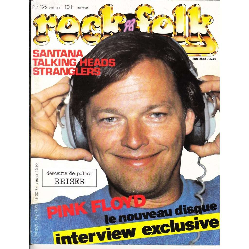 Rock & Folk N° 195-avril 1983