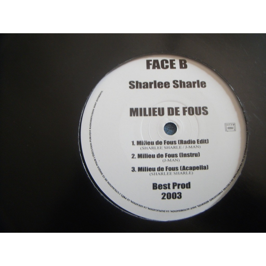 sharlee sharle MILIEU DE FOU / HIP HOP PARTY
