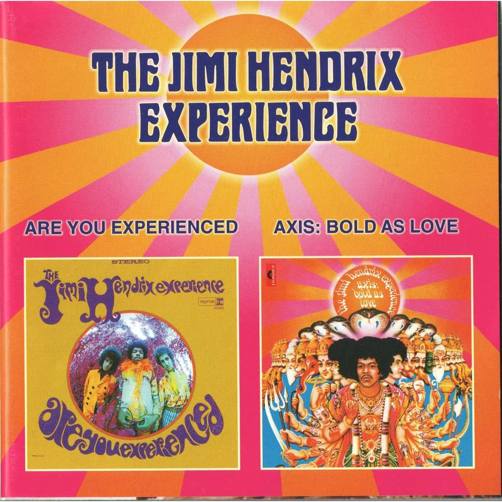 jimi hendrix experience Are You Experienced / Axis: Bold As Love